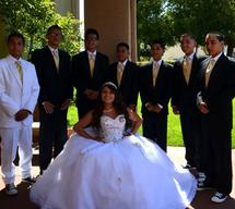 rev ron quinceanera in san diego chapel